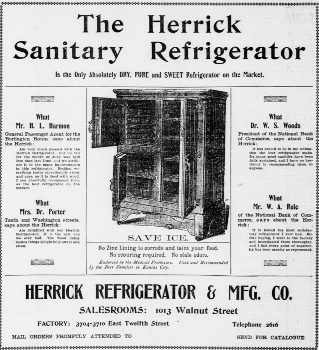 Vintage Ads For Herrick Refrigerators Vintage Appliance