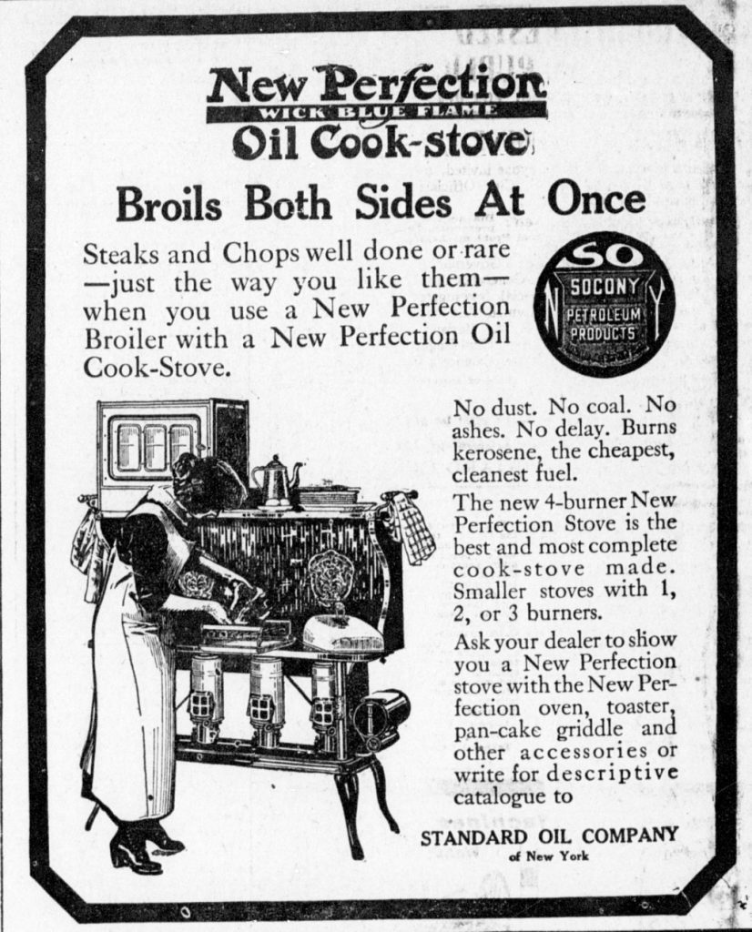 1913 new perfection stove