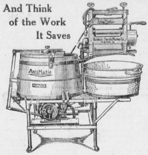 Automatic Electric Washer 1919