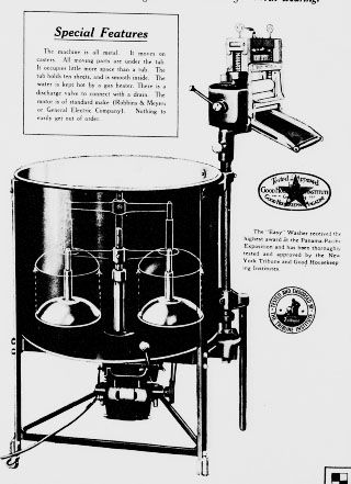 1919 Easy Vacuum Electric Washer