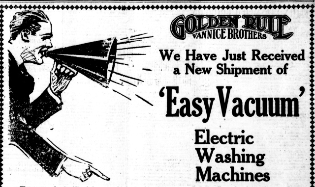 1920Easy Vacuum Electric Washer