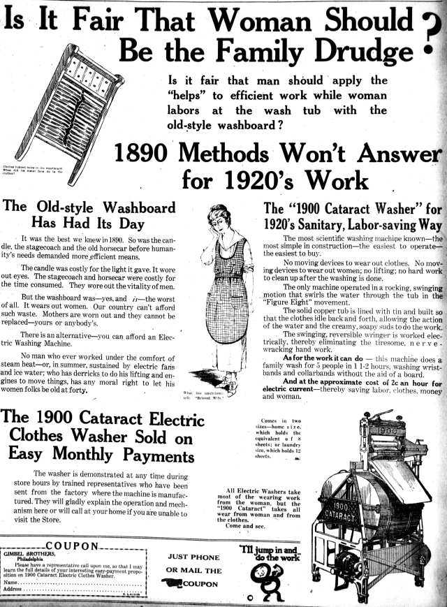 Cataract Motor Washer Vintage Appliance Ads And Info