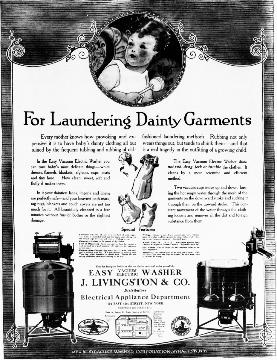 full page ad easy washer 1919