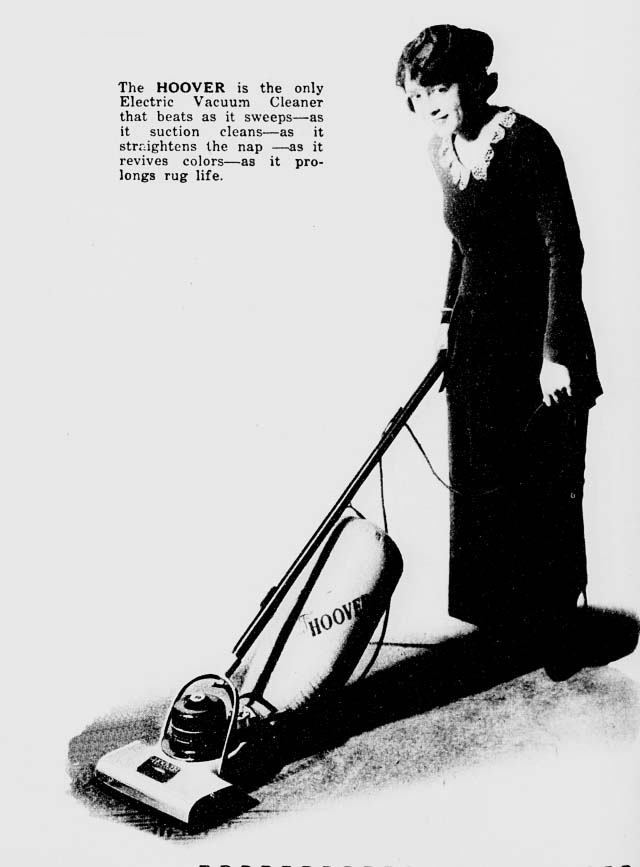 Hoover Special Suction Sweeper Vintage Appliance Ads And