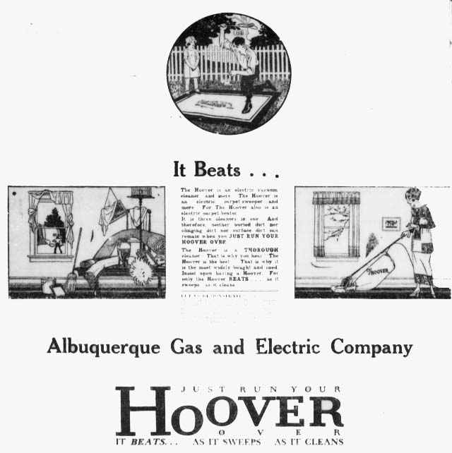 1919 hoover ad