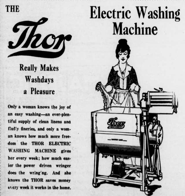 Thor Electric Washing Machine