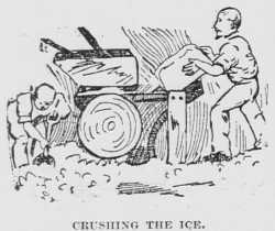 crushing the ice