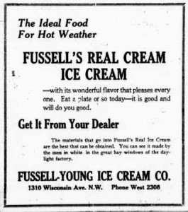 Ice Cream In The Old Days