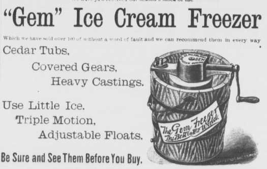 vintage ice cream makers
